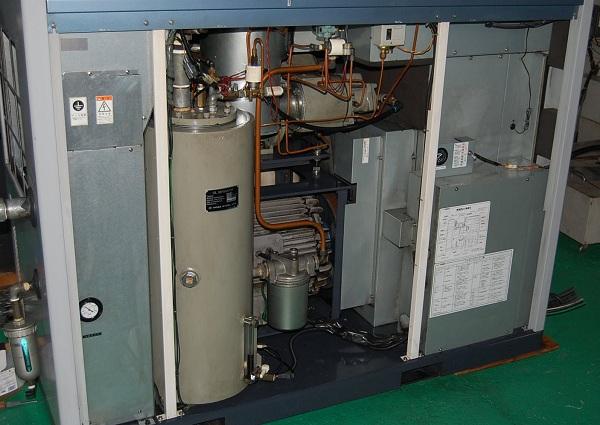 máy nén khí trục vít bãi